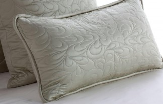Quilted Lumbar Pillow