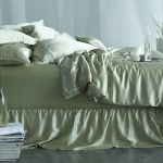 Manito Celebrates the Colors of Spring with 20% off Soft Green Silk Bedding